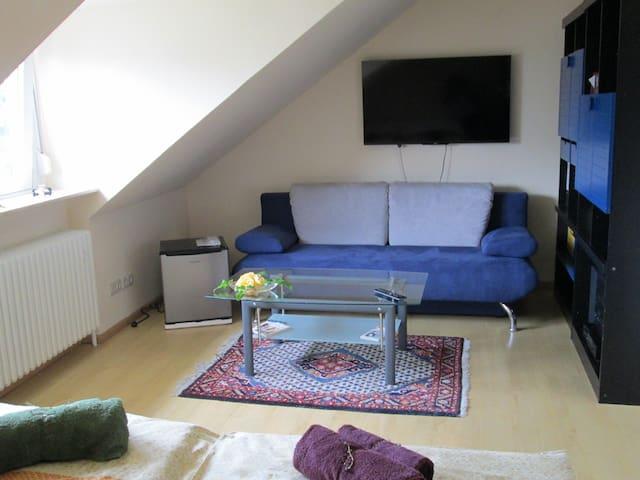 confortable, sunny doubleroom - Nürnberg - Huis