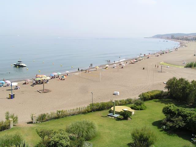 Duplex primerísima línea de playa - Bahía de Casares - Daire