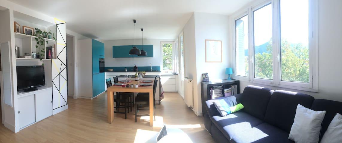 Beau T3 à 2 pas du centre/lac - Annecy - Wohnung