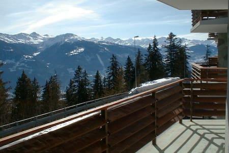 Montana, a soli 200 m dalle piste da sci - Randogne