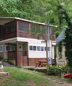 Wonderful cozy cabin on the Finley - Rogersville
