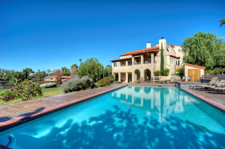 San Diego Vacation Home Ocean/Sunset View Pool Spa - La Mesa - Hus