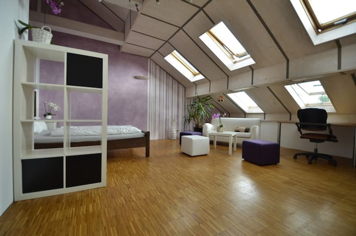 1st room 30 sqm with double bed