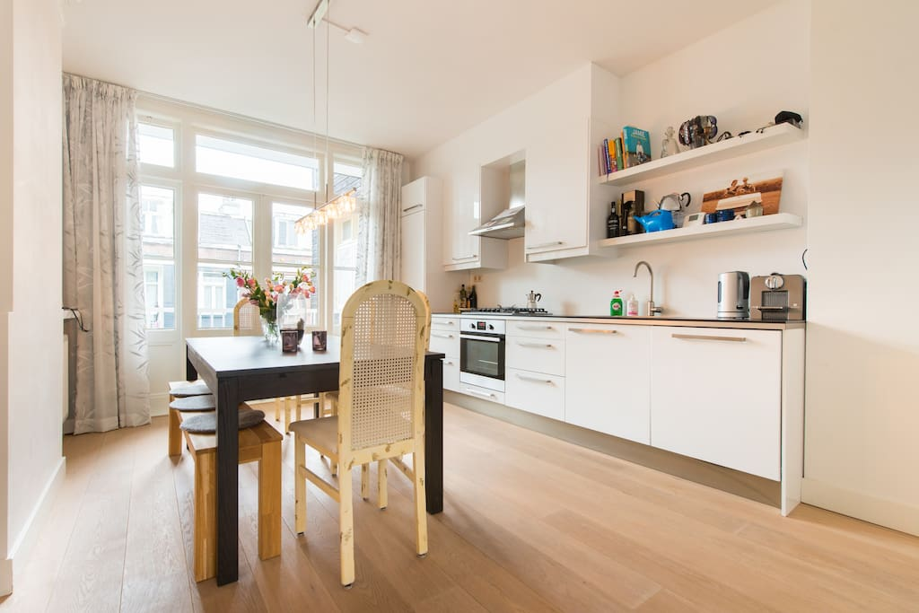 Open floor plan kitchen - Open keuken