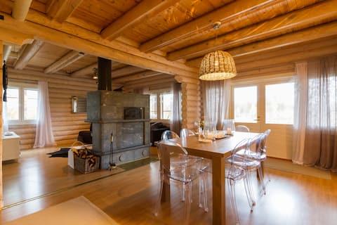 Big Cottage with Sauna - LapElf Pine