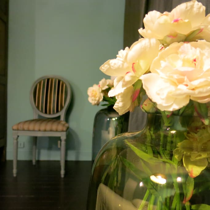 Des fleurs comme à la maison