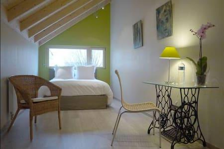 Cosy chambre PIMPRENELLE - Dijon - Bed & Breakfast