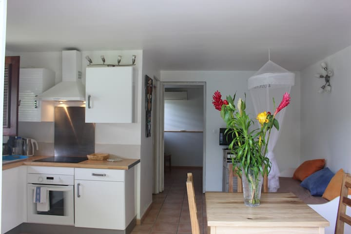 Nice 2-room flat 34 m2, air-condition, Wifi, beach