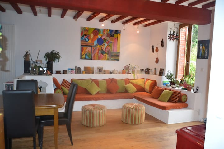 Charmante maison, idéale en famille - Bussy-en-Othe - House