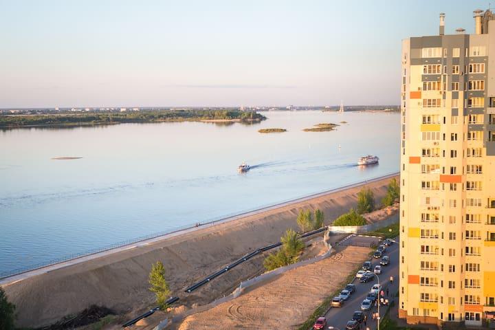 Волжская набережная 2394 - Nizhniy Novgorod - Lakás