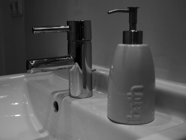 Das Bad...