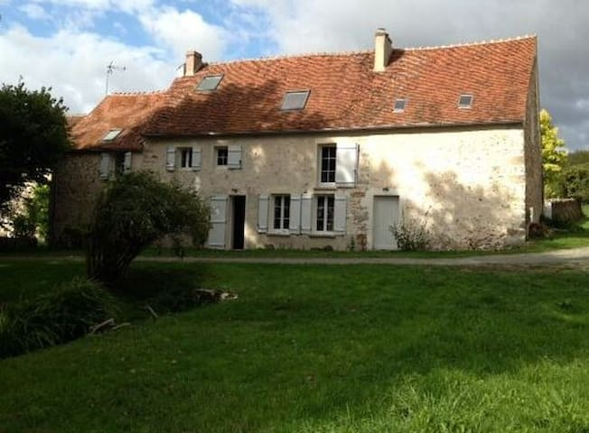 Countryside house 1h15 from Paris - Vendières - Hus