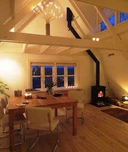 Heerlijk Waddenloft met houtkachel - Oudeschild - Loft