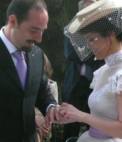Una coppia di sposi ha scelto il Broglino