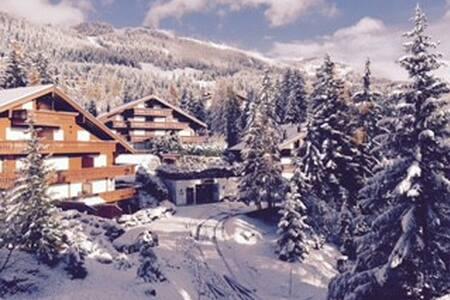 In Plans-Mayens, off the ski slopes - Lens - Pis