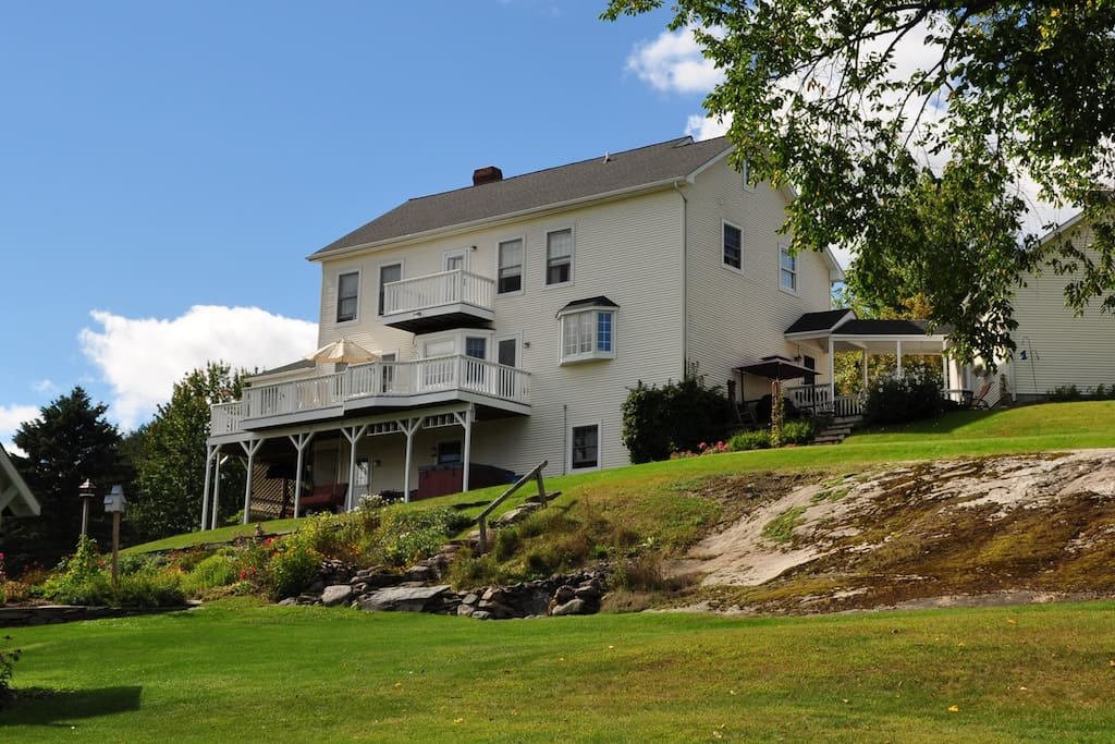Beautiful vermont country home houses for rent in essex for Vermont country homes