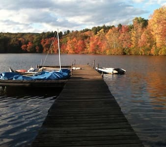 Lake House in the Berkshires - Talo