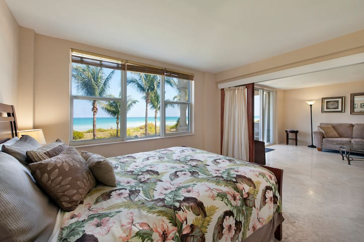 Direct Oceanfront Views in Safe Beach Community