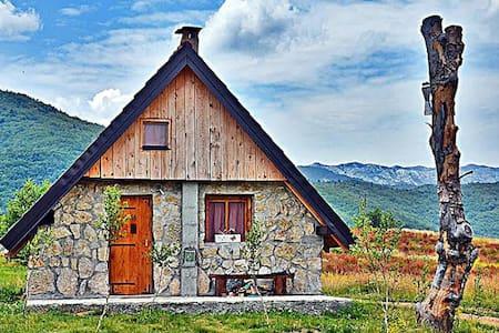 Etno selo Montenegro - Lovely Stone Hut