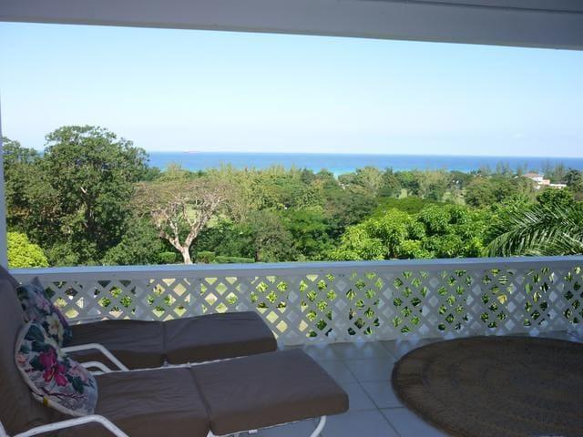 Views of the Caribbean  - Stunning! - Runaway Bay - Haus