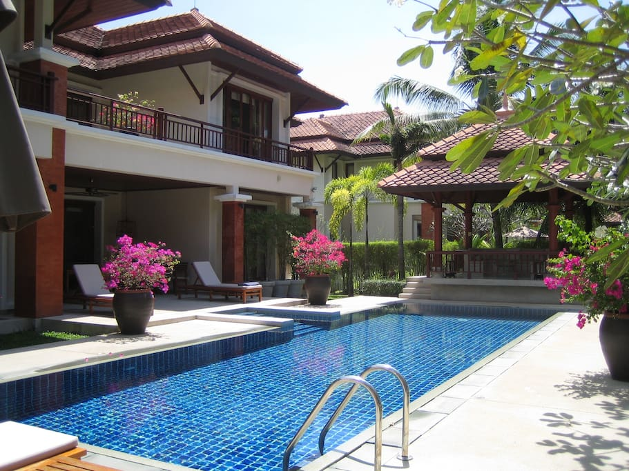 The House & Pool