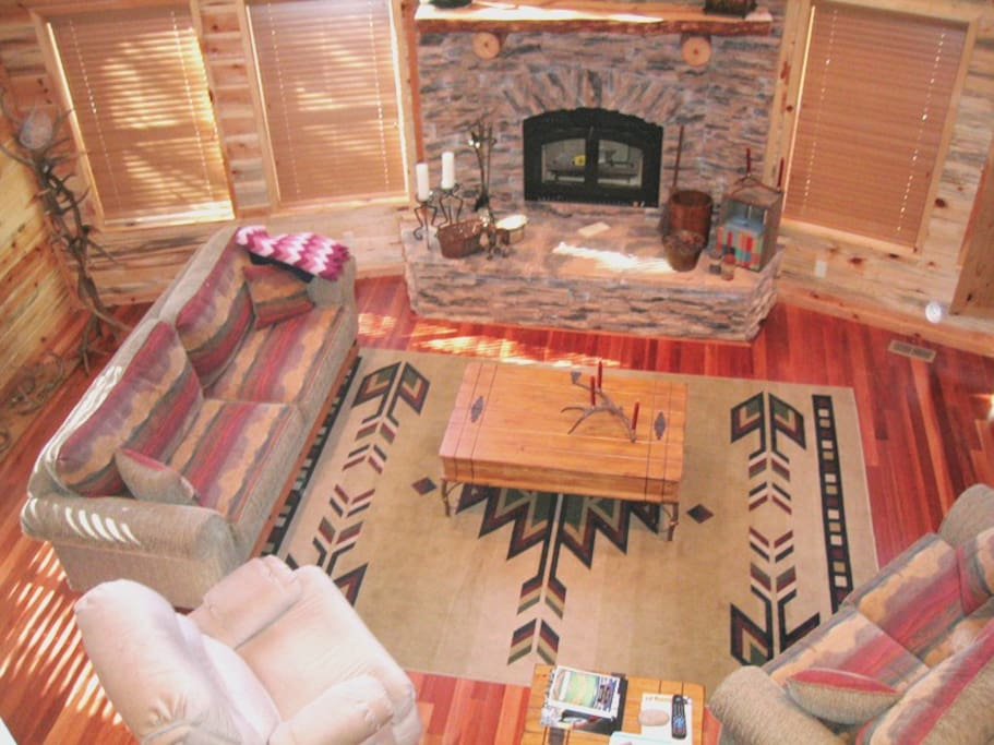 Cabin Family Room Near Zion and Bryce Canyon National Park