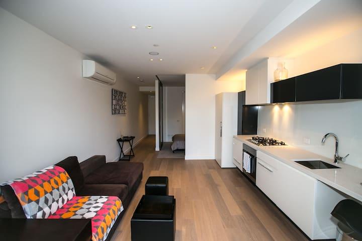 SOUTH YARRA MODERN 1 BED. WIFI+CAR - South Yarra - Apartment