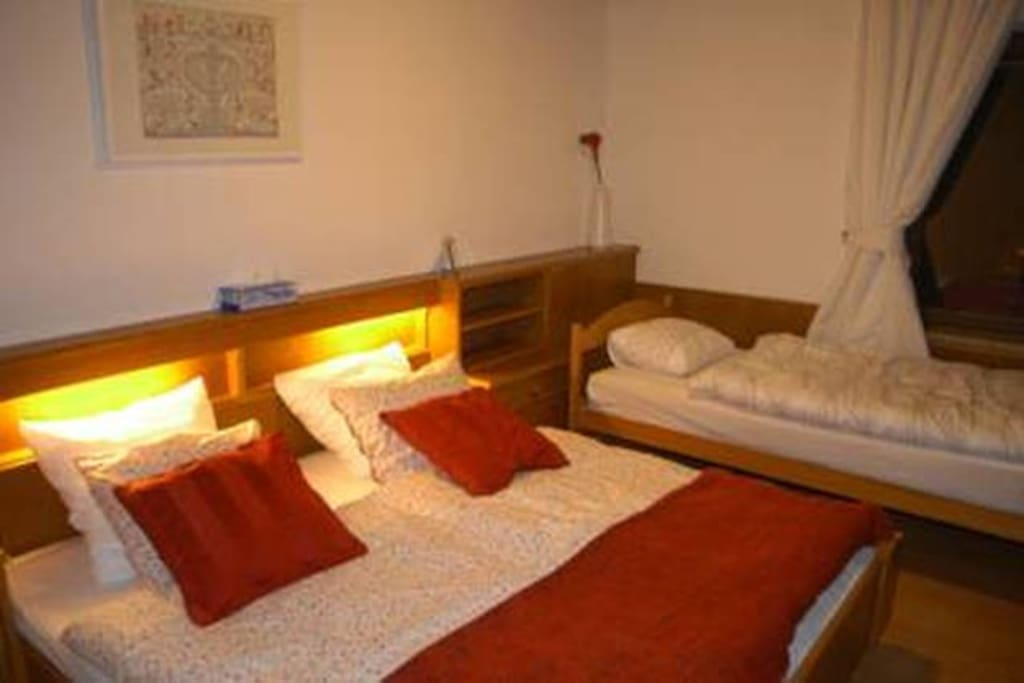 Our 3 bed rooms