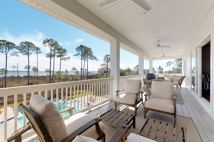 Luxurious beachfront home w/ private pool, outdoor shower, and beach access!