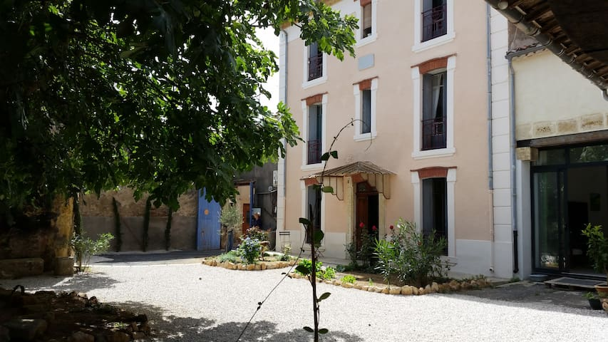 (1) Beautiful renovated duplex F2 - Florensac