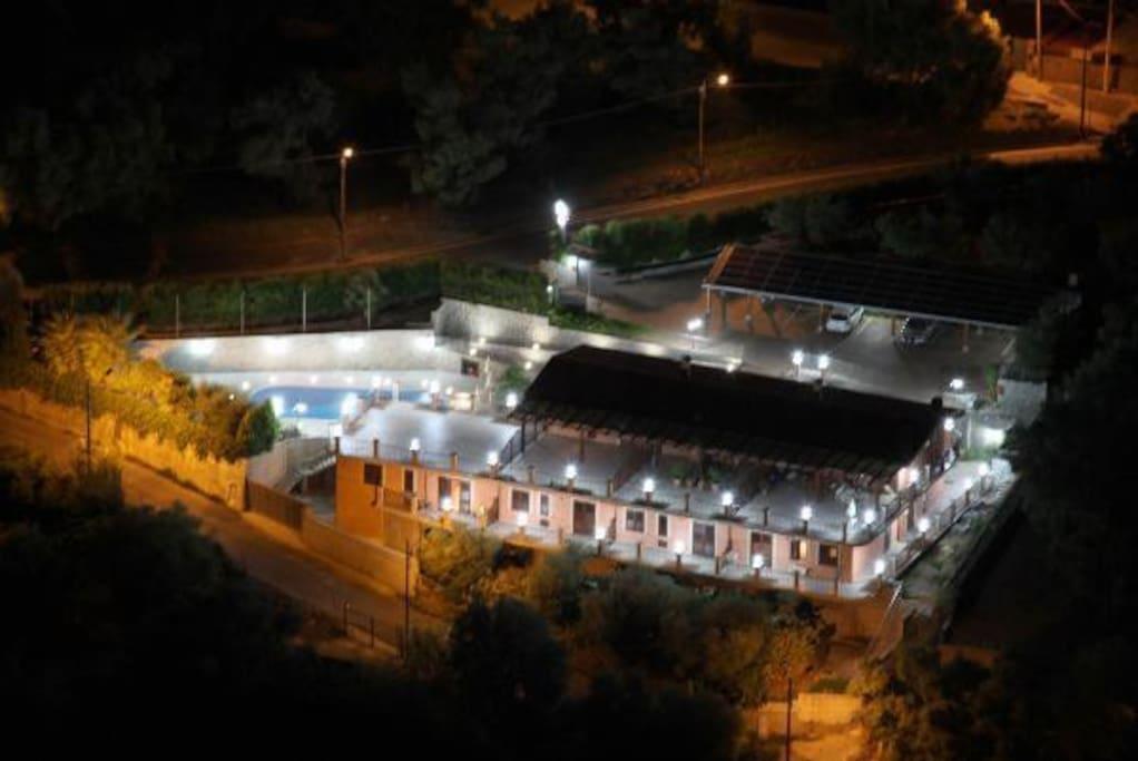 struttura vista notturna