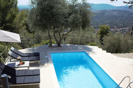 Villa Cabris - 15 km from Cannes with heated pool - Cabris