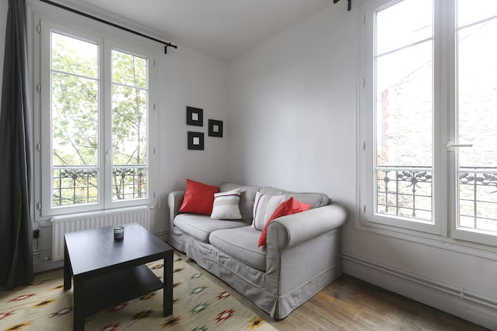 ★Renovated Flat in PARIS, close CDG & Villepinte ★ - Le Bourget - Apartamento