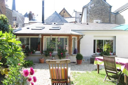 Charmante maison avec jardin