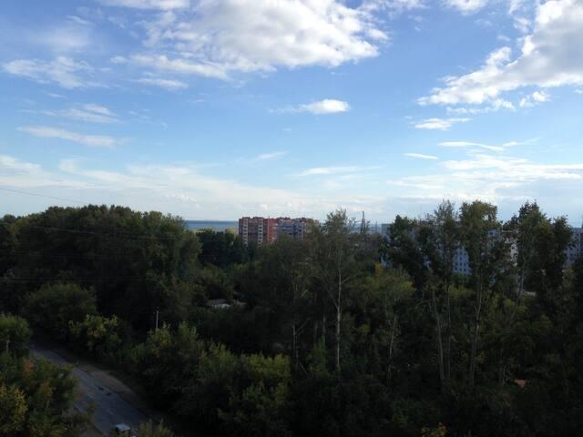 Просторная квартира - Новосибирск - Apartment