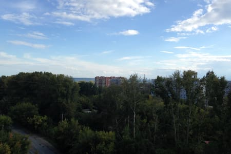 Просторная квартира - Новосибирск