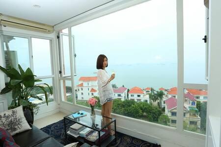 环岛路【超大玻璃全海景房】下楼及大海,一楼海景房单租,曾厝垵、厦大 - Xiamen