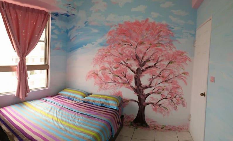藍天或ㄚㄚ房+(南投地區包車) - Puli Township - Appartement