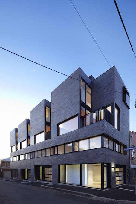 North melbourne townhouse maisons louer north - Maison entrepot melbourne en australie ...