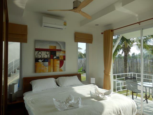 Master Bedroom in morning sun.