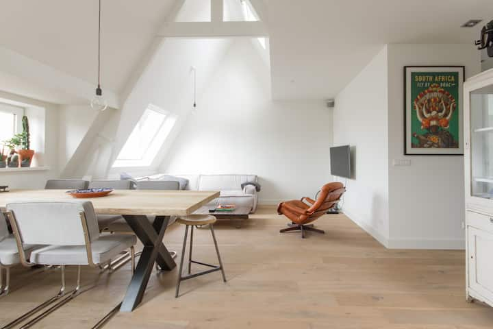 Newly Renovated Loft @ Vondelpark!