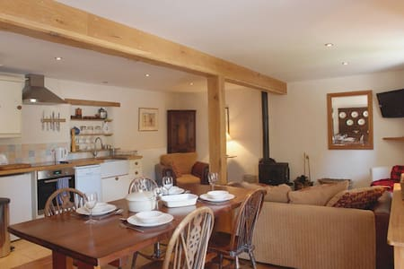 Beautiful barn conversion - Tedburn Saint Mary - Huis