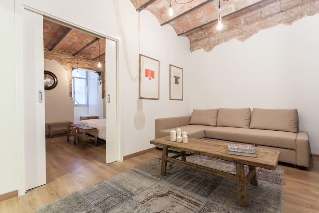 Vintage style paral lel appartamenti in affitto a for Appartamenti barcellona affitto economici