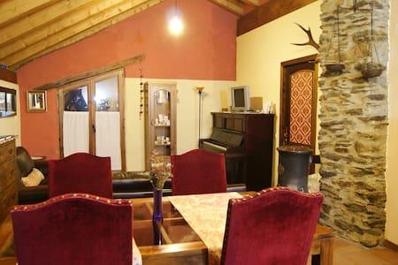 Casa Fonte  Aidi Llavorsi  en aldea rural Pirineo - Aidi,Llavorsí, Lleida - Rumah