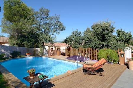 Maison moderne avec piscine - Peyrolles-en-Provence - Haus