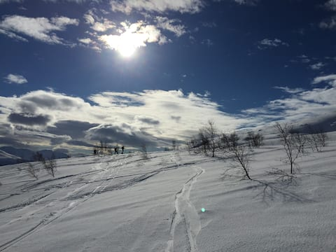 Nice annexe in Tromsø