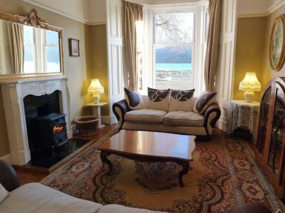 Enjoy the stunning views over the loch from the drawing room