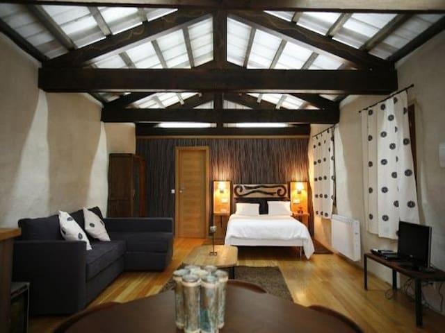 Aire. Apartamento Rural de 40 m2 - Ordes - Byt