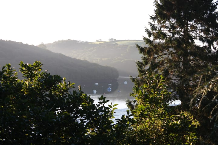 Tranquil Retreat on Fowey Estuary