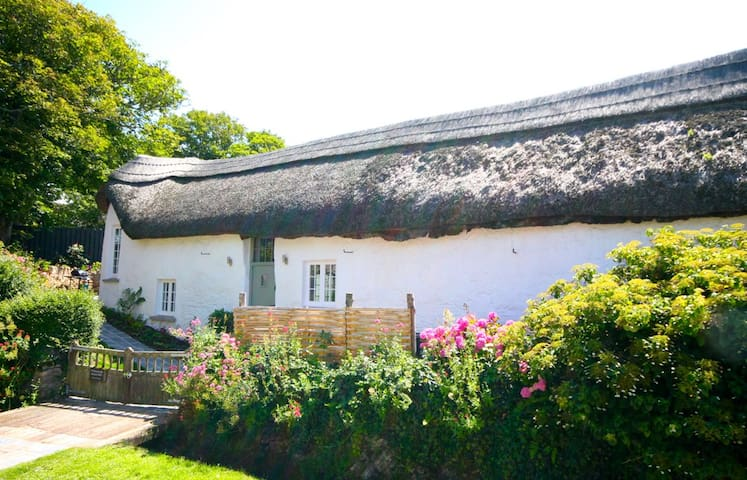 Thatched Devon Barn by the Sea - Croyde - Hus
